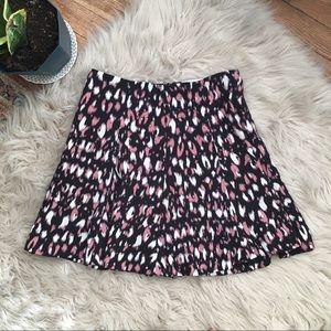 Lovers + Friends Animal Print Mini Skirt